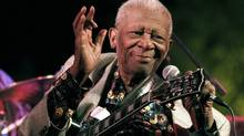 B.B. King is unfailingly articulate, gentlemanly and modest in this British documentary. (Rogelio V. Solis/AP)