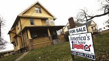 A house in Ohio. U.S. home prices are headed up, suggesting that a sector that has seen nothing but bad news for five years is finally beginning to contribute to the nation's recovery. (SHANNON STAPLETON/REUTERS/SHANNON STAPLETON/REUTERS)