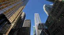 Bank towers in Toronto's Bay Street financial district. (Tim Fraser/The Globe and Mail/Tim Fraser/The Globe and Mail)