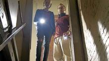 "Sarah Paxton and Pat Healy in a scene from ""The Innkeepers"" (Handout)"