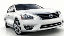2013 Nissan Altima Sedan (Nissan/Wieck)