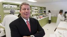 Valeant CEO Michael Pearson is seen in one of the company's laboratories Tuesday, April 3, 2012 in Laval, Que. (Ryan Remiorz/Ryan Remiorz/THE CANADIAN PRESS)