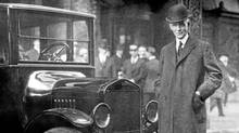 Henry Ford with a Model T in 1921. Within a decade it would be obsolete.