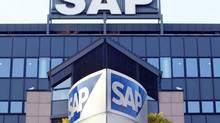 The headquarters of German software maker SAP in Walldorf near Heidelberg are shown in this file photo. (MICHAEL PROBST/AP)