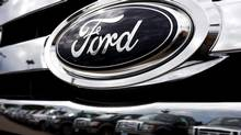 Ford sold more than 100,000 F-Series pickup trucks in 2012. (David Zalubowski/AP Photo)