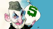 Hamid Karzai (Anthony Jenkins/The Globe and Mail)