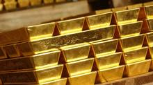 Gold bars. (HO/Reuters)