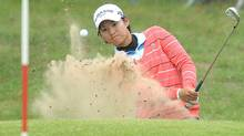 Yani Tseng in the second round of the Women's British Open at Royal Birkdale (ANDREW YATES)