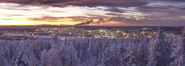 Rovaniemi, a serene town in northern Finland, is home to roughly 60,000 people, reindeer farms and Santa Claus himself.
