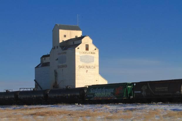 Still standing - Shaunavon's grain elevator