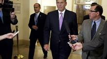 John Boehner, Speaker of the Republican-controlled House of Representatives, has edged closer to the U.S. President's demand to raise taxes on the wealthiest Americans. (JOSHUA ROBERTS/REUTERS)