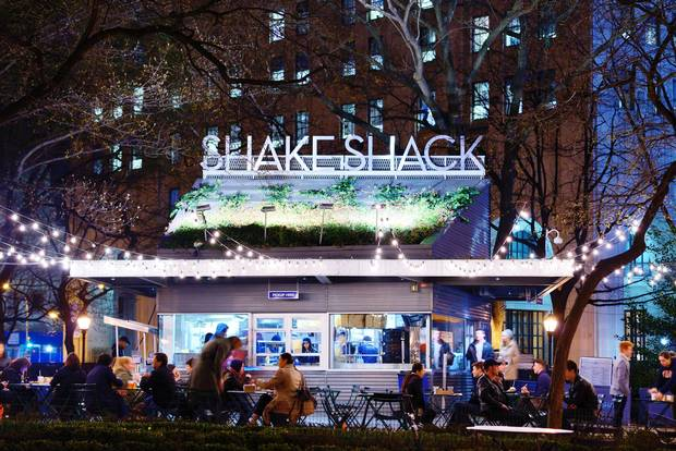 The Madison Square Park Shake Shack is where the chain got its start.