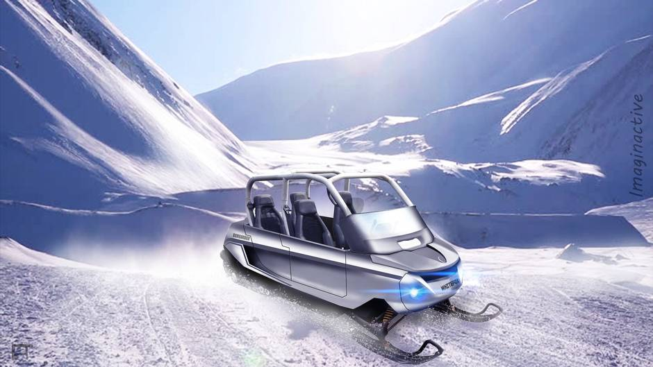 A four-seat snowmobile for adventures with your kids - The Globe and