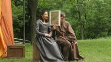 Mayko Nguyen and Richard Binsey in Passion Play.