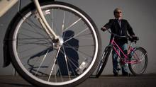 Rick Murray, president of SandVault Group Global Solutions Corp. in Richmond, B.C. The company designs the technology used in the bike-share docking systems. (DARRYL DYCK for THE GLOBE AND MAIL)