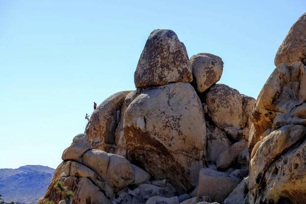 Josha Tree National Park is a great place for rock climbing, hiking and stargazing.