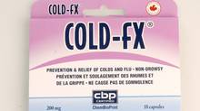 Cold-fx. (Kevin Van Paassen/Kevin Van Paassen/The Globe and Mail)