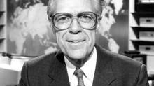 Knowlton Nash anchored CBC news' The National, from 1978 to 1992. (CBC)