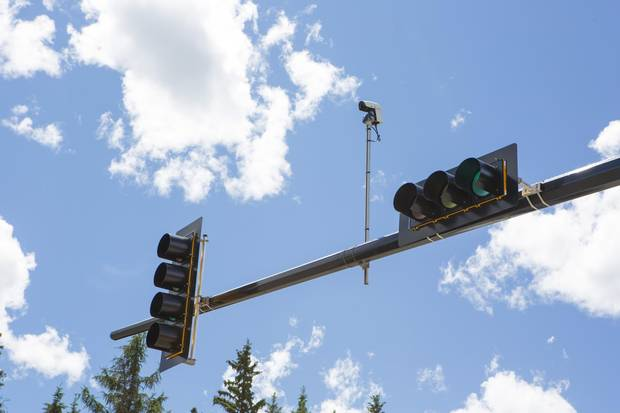 Smart city technologies include intuitive road signals which prioritize emergency vehicles.