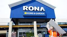 On Monday, investors may finally hear Lowe's CEO Robert Niblock's take on Lowe's 'expression of interest' in Rona. He will participate in the company's analyst conference call after it releases its second-quarter results. (Nathan Denette/THE CANADIAN PRESS)