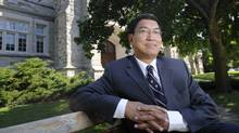 Dr. Amit Chakma is photographed on campus on in London, Ont. on Sept. 4/2009. (Kevin Van Paassen/THE GLOBE AND MAIL/Kevin Van Paassen/THE GLOBE AND MAIL)