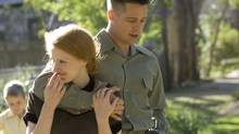 Jessica Chastain and Brad Pitt in a scene from 'The Tree of Life' (Twentieth Century Fox)