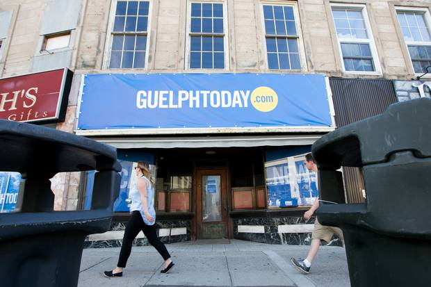 Guelph Today, operating out of a modest office on Wyndham Street, is one of a few online ventures trying to fill the void left by the Mercury's demise.