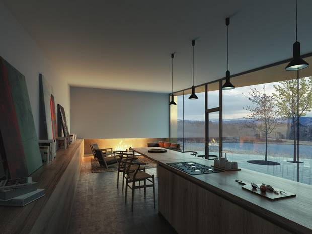 The Rock House has received design accolades and international exposure, drawing interest from buyers around the world, according to MacGregor.