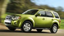 The 2012 Ford Escape Hybrid uses an electronically-controlled CVT. (Ford)