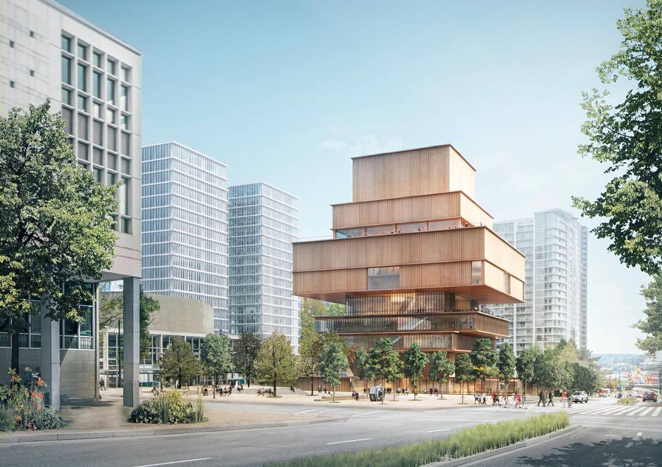 Vag design proposal will change the way vancouver thinks for Vancouver architecture firms