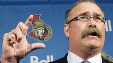 Ottawa Senators head coach Paul MacLean (BLAIR GABLE/Reuters)