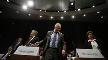 U.S. Director of National Intelligence James Clapper said spying on foreign leaders was 'the first thing I learned at intel school.' (JASON REED/REUTERS)