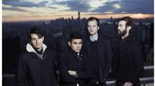 Indie-rocking New York quartet, Vampire Weekend.