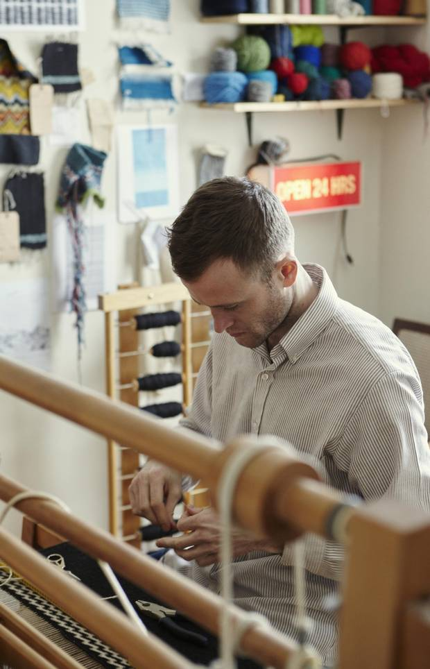 Alec Sutherland comes by his skill at making carpets honestly. As a child, he was obsessed with activities that involved precision and planning as well as more free-form art.