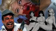 "A telling detail from the poster for the documentary ""Herschell Gordon Lewis: The Godfather of Gore"" (handout)"