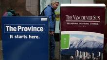 About 600 union employees work at the Vancouver papers, which are part of Postmedia's Pacific Newspaper Group.
