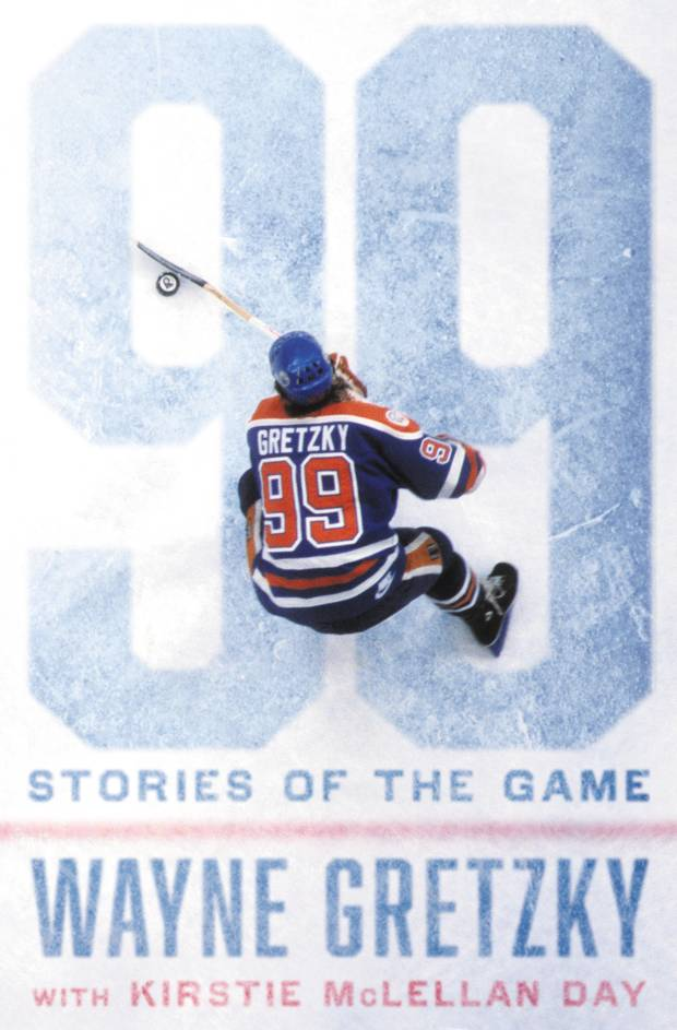The cover of Wayne Gretzky's upcoming book.