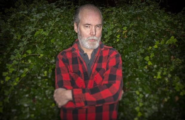 Artist and author Douglas Coupland at his home in West Vancouver on Oct. 1, 2013.