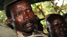In this Nov. 12, 2006 file photo, the leader of the Lord's Resistance Army, Joseph Kony answers journalists' questions following a meeting with UN humanitarian chief Jan Egeland at Ri-Kwamba in southern Sudan. Today's topics: #stopkony; school systems as last-century creatures; Oxy addicts; Canadian filmmaking … and more (AP)