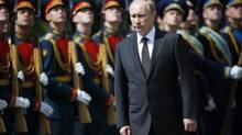 Russia's President Vladimir Putin is shown in Moscow on June 22, 2014. (MAXIM ZMEYEV/REUTERS)