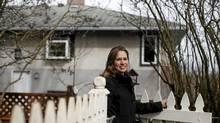 Low interest rates are helping Victoria real estate agent Deanna Noyce decide whether to buy a new home for her mother (Chad Hipolito/Chad Hipolito/For The Globe and Mail)