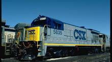 CSX is one of the largest railways in the United States, with service to 23 eastern states and two Canadian provinces. (Corel)