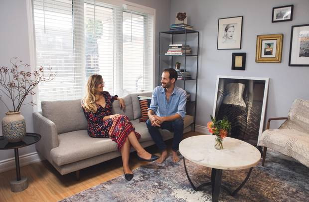 Emily Innerkofler and Florian Innerkofler designed their east Toronto space to commemorate their lived moments together.