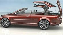 Pop-up roll bars are standard on many new convertibles, including the 2011 Volvo C70. (Volvo)