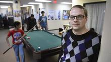 David O'Brien is an Access and Counselling Supervisor at the East Metro Youth Services. The centre helps youth experiencing social, emotional or behavioural problems. (Fred Lum/The Globe and Mail)