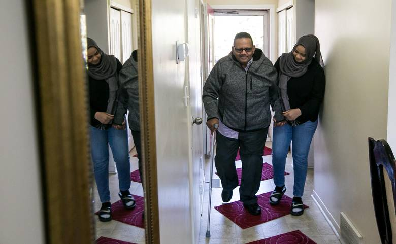 """Hana Hussein has no regrets being a young caregiver. 'I knew things that most nine-year-olds wouldn't know, like what insulin is and how to inject it. It's made me more mature."""""""