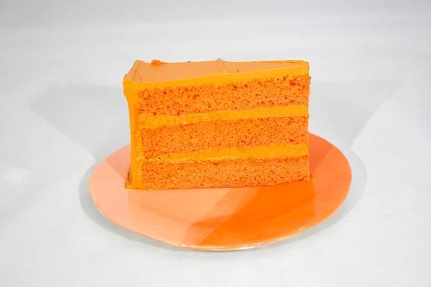Leah Rosenberg often includes colourful cake in her art openings.