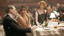 Steve Buscemi, Paz de la Huerta and Chris Mulkey in Boardwalk Empire