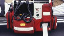Defibrillator, close-up (ThinkStock/ThinkStock)