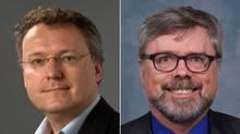 Dr. Martin Offringa, left, and Dr. Terry Klassen